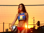 rosie roff exotic sunset