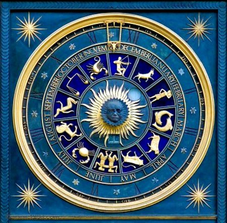 Blue zodiac - photography, 12, abstract, blue, astrology, zodiac