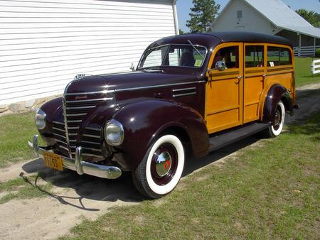 1939 PLYMOUTH WOODY WAGON - old car, cars, plymouth, auto