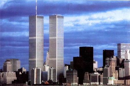 World Trade Center Twin towers Beforeafter 911