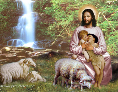 jesus with children jesus christ the lord wallpapers