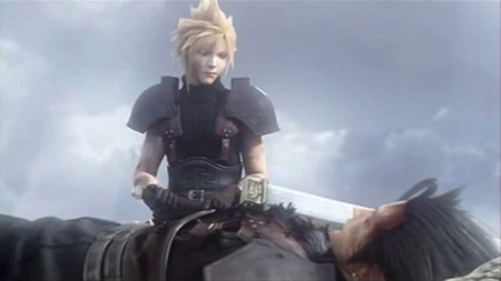 Zack and Cloud - final fantasy, crisis core, zack, cloud