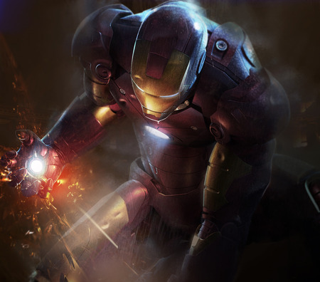 Iron man 2 - CG, Man, Iron, Movie
