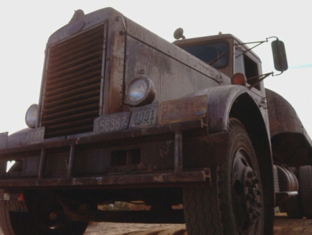 semi from the movie duel w dennis weaver 3d and cg