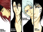 Bleach Shinigami Guys