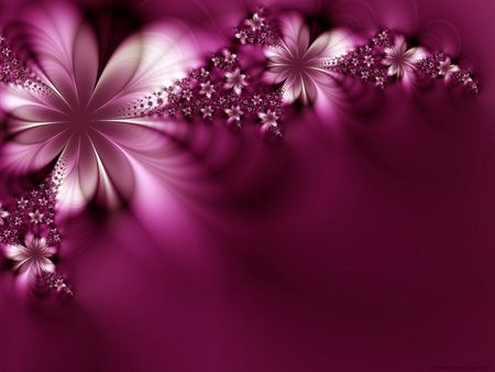 Dreamlike Flowers - dreamlike, purple, flowers