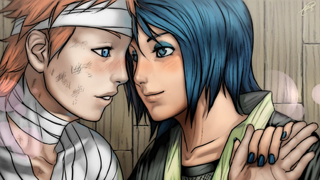 Yahiko and Konan HD 720 - yahiko, couple, anime love, akatsuki, anime couple, naruto, anime, pein, konan, love