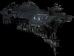 UNSC Spirit of Fire in space