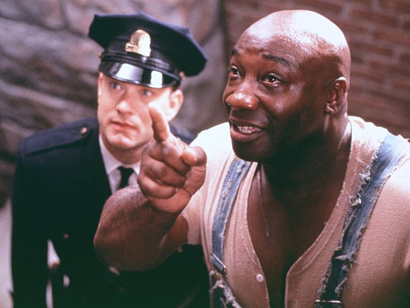 The Green Mile - men, movie, actor, other