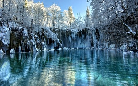 Frozen lake winter nature background wallpapers on desktop nexus image 597418 - Beautiful frozen computer wallpaper ...