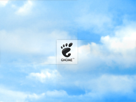 Sky Gnome - clouds, footprint, sky, gnome