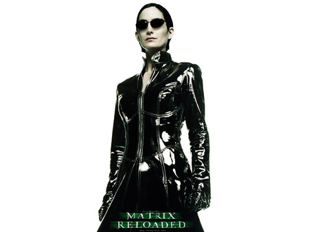 Untitled Wallpaper - matrix, matrix reloaded, carrie anne moss, the matrix, trinity
