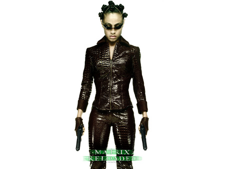 Untitled Wallpaper - matrix, matrix reloaded, the matrix, jada pinkett smith, niobe