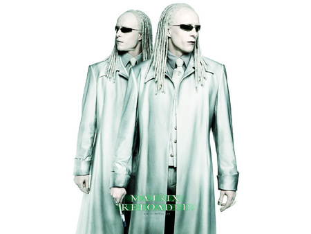 Untitled Wallpaper - twins, matrix, the matrix, matrix reloaded