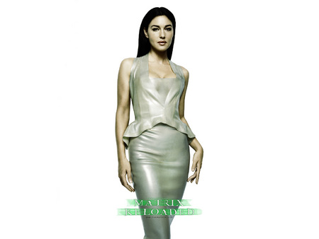 Untitled Wallpaper - matrix reloaded, monica bellucci, gray