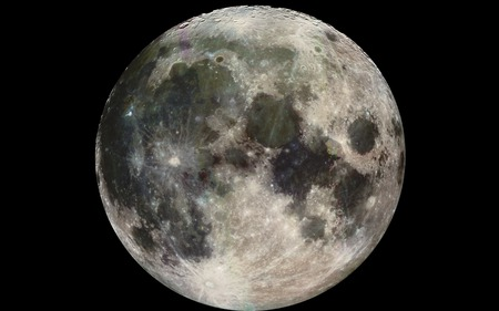 moon - full moon, 2nd light, satellite, moon