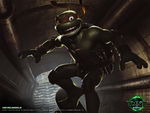 tmnt 2007 movie poster michelangelo