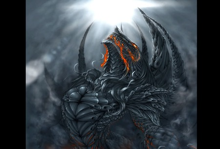 Dark Dragon - Fantasy & Abstract Background Wallpapers on ...