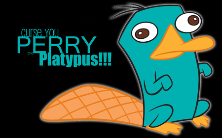 PERRY!!! - TV Series & Entertainment Background Wallpapers ... Perry The Platypus Desktop Wallpaper
