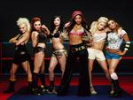 hot,sexy,girls,pussycat dolls,black,pink,red