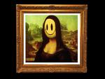 Banksy Mona Lisa Smile