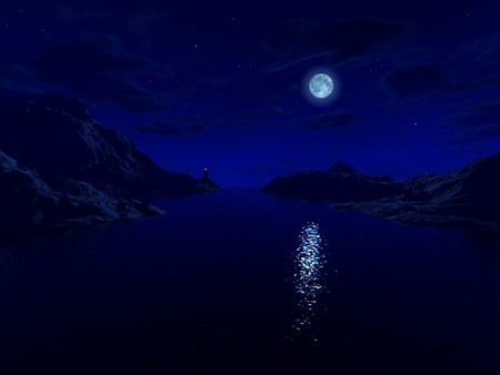 blue night sky background - photo #34
