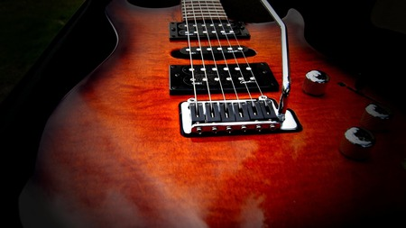guitar - strings, music, rock, guitar