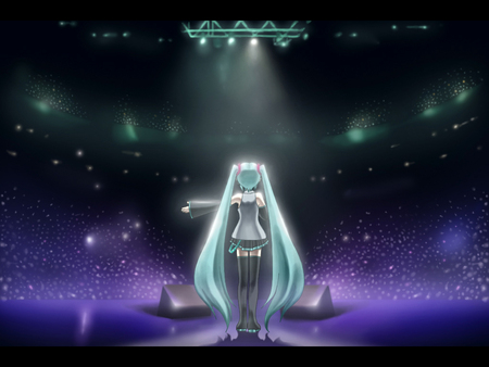 Miku Live Concert - Other & Anime Background Wallpapers on ...