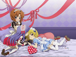 Higurashi Maids - Rena, Rika, and Satoko