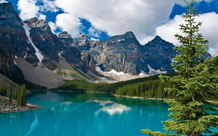 Mountain - lake, nature, mountain, trees