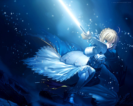 anime blue saber ndash - photo #29