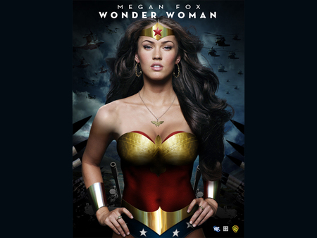 Megan fox as wonder woman movie