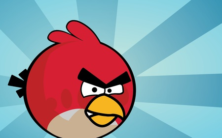 So Angry - angry, bird, artwork, cute, abstract, fantasy, vector