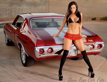 Sexy Women And Hot Rods 103