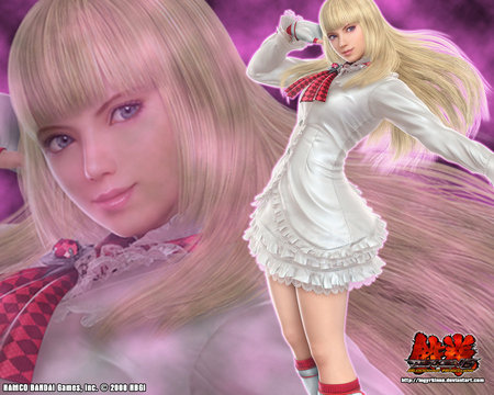 lili rochefort - sexy, lili rochefort, video games, tekken