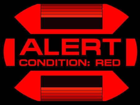 ALERT - CONDITION  RED - star trek