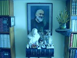 Padre Pio with angels