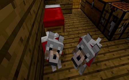 Minecraft Wolves - minecraft, wolves, beautiful, awesome, wolf