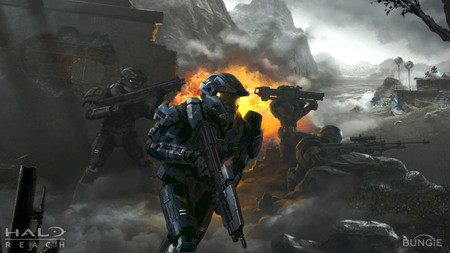 Firefight - reach, halo, noble, bungie