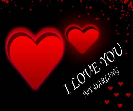 Wallpaper I Love You Darling : My Darling You - 3D and cG & Abstract Background Wallpapers on Desktop Nexus (Image 641079)