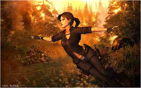 Tomb Raider - hot, lara, wallpaper, tomb raider
