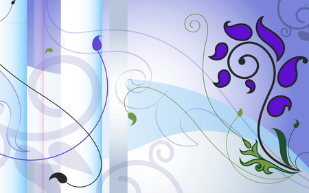 Juice Drop - vector artwork, wds, abstract, vector, forms, widescreen, design, violet, juice drop