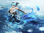 Miku Walk on Water