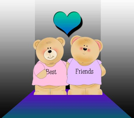 You're my Best Friend - 3D and CG & Abstract Background ...