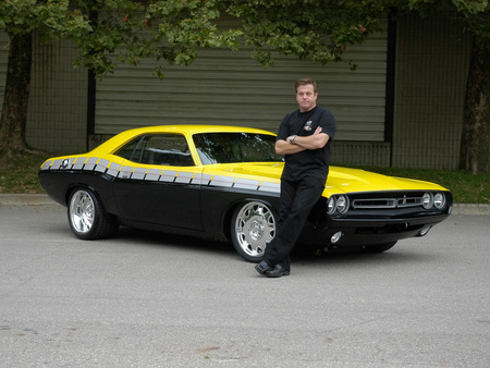 My Hero   Chip Foose - chip foose, cars, dodge, foose-70-challenger