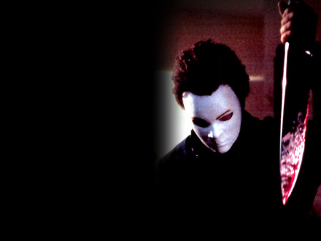 Michael Myers - halloween, mask, blood, horror, michael myers