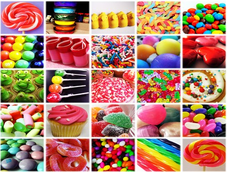 SWEETS!!! - sweets, bright, cupcake, loly