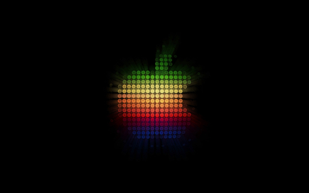 color apple - black, mac, technology, color, apple