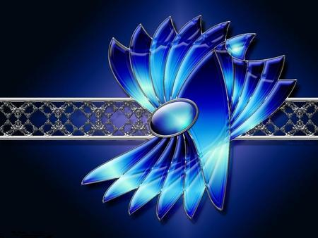 3d Blue 3d And Cg Amp Abstract Background Wallpapers On