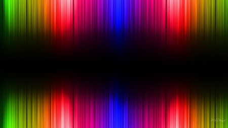 Spectrom - light, black, abstract, colors, bright